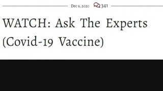 Ask the Experts about Covid and the Vaccine