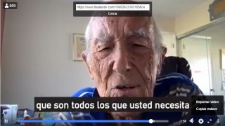 Dr Angel Garcia 90 yr Tells us about the big lie (Mentira Grande) about the virus
